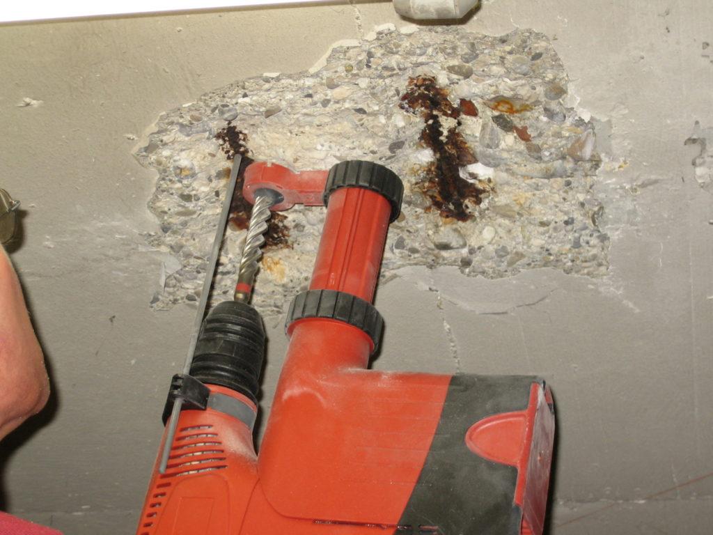 Bauwerksuntersuchung Probennahme